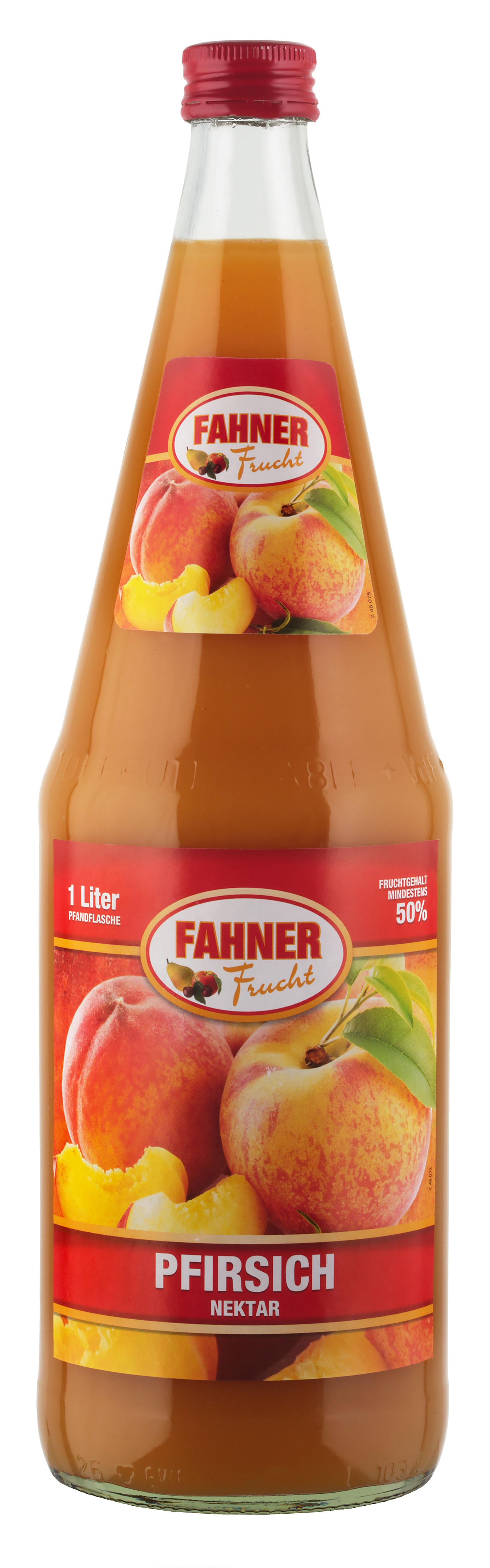 FAHNER Pfirsich Nektar 6x1 l