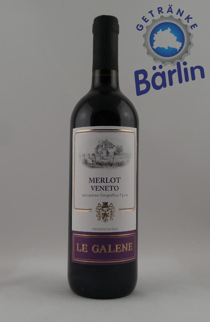 Le Galene Merlot Veneto -R- trocken 0,75 l