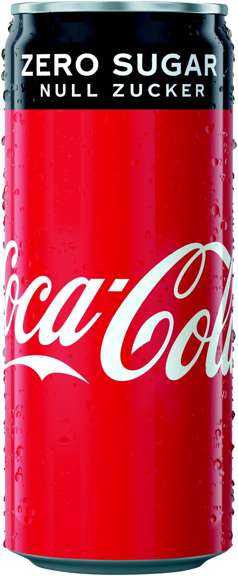 Coca Cola Zero Dose 24x0,33 l