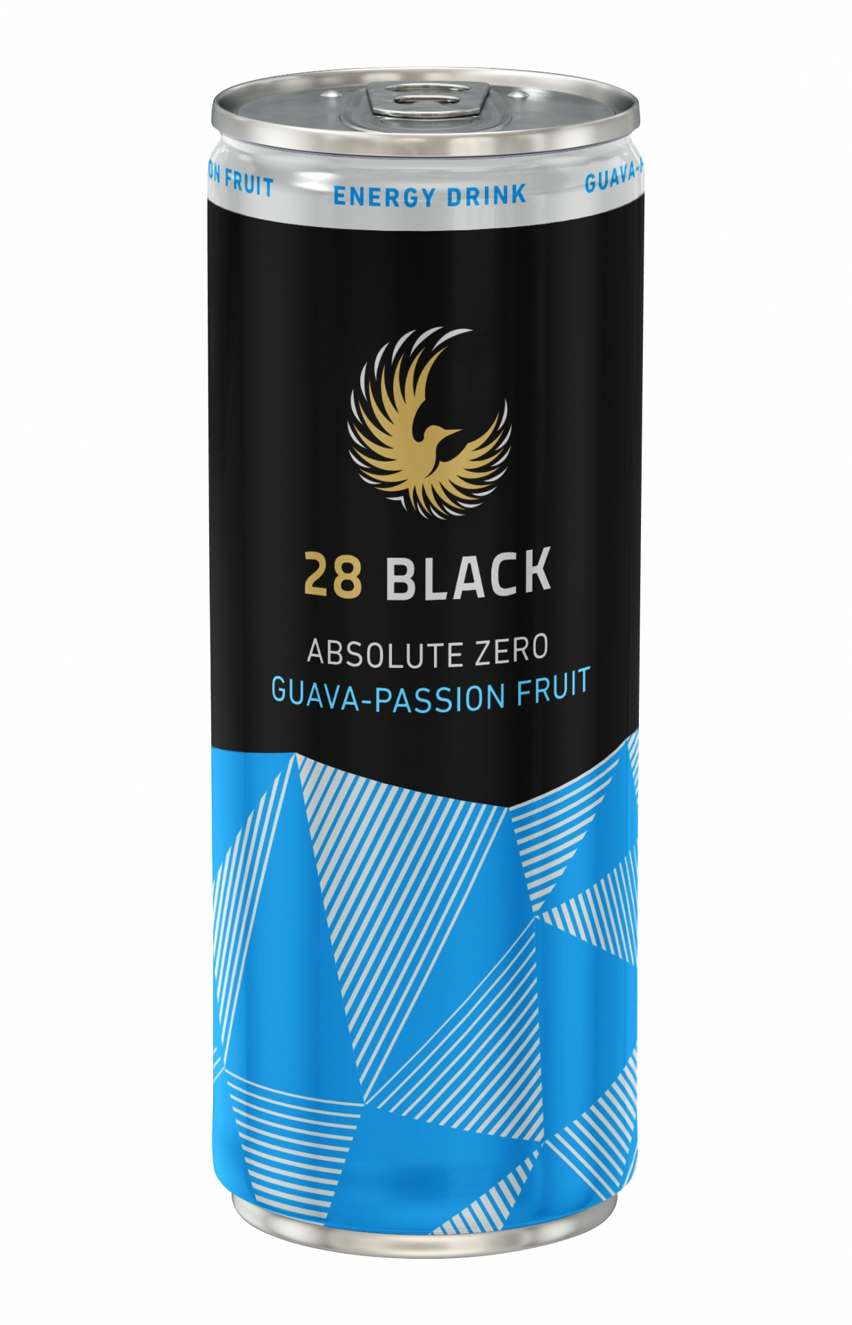 28 BLACK ABSOLUTE ZERO GUAVA-PASSION FRUIT 24x0,25 l Dose