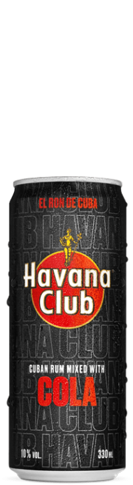 Havana Club & Cola 10% 12x0,33 l Dose