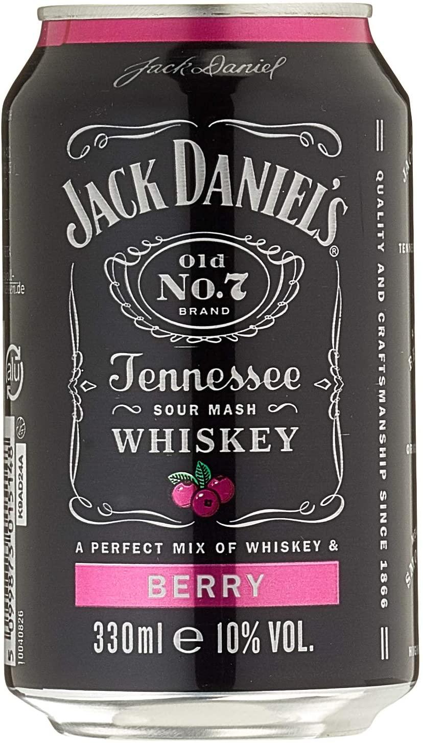Jack Daniel's & Berry 10% Vol. 24x0,33 l Dose