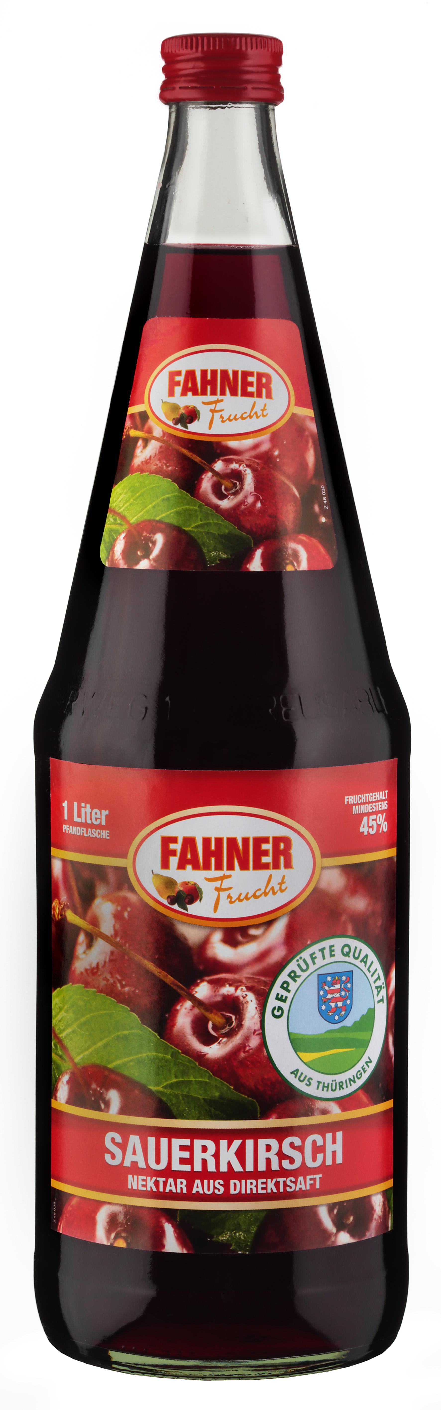 FAHNER Sauerkirsch Nektar 6x1 l