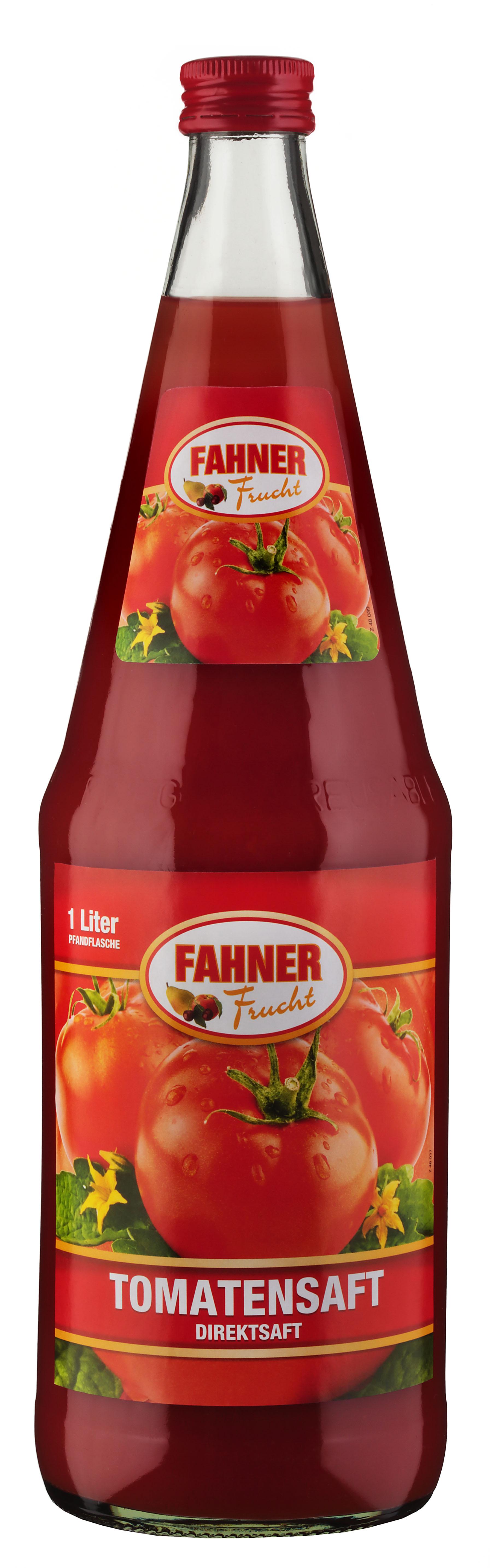 FAHNER Tomatensaft 6x1 l