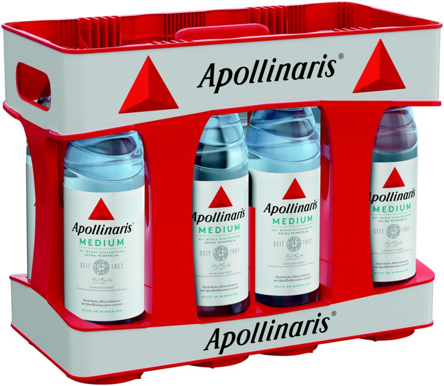Apollinaris Medium 10x1 l. PET MW