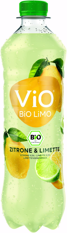 Vio Bio Limo Zitrone-Limette 18x0,5 l