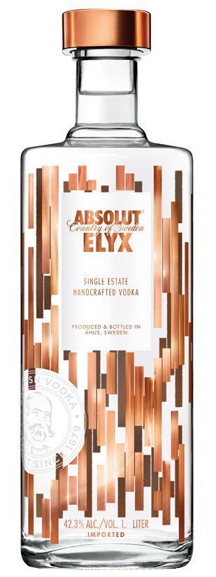 Absolut Elyx Vodka 1 l