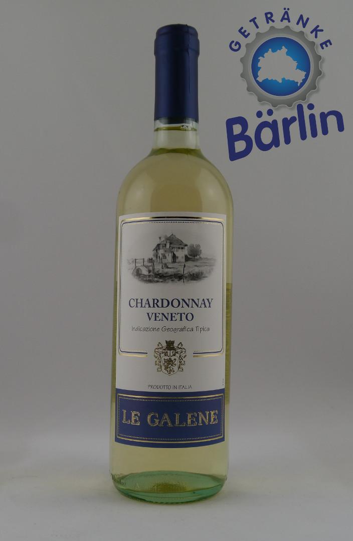 Le Galene Chardonnay Veneto -W- trocken  0,75 l