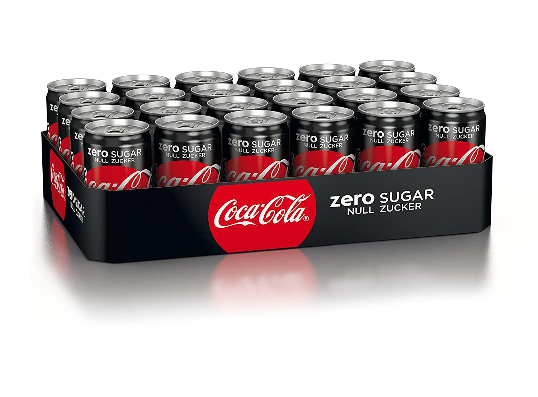 Coca Cola Zero 24x0,25 l Dose