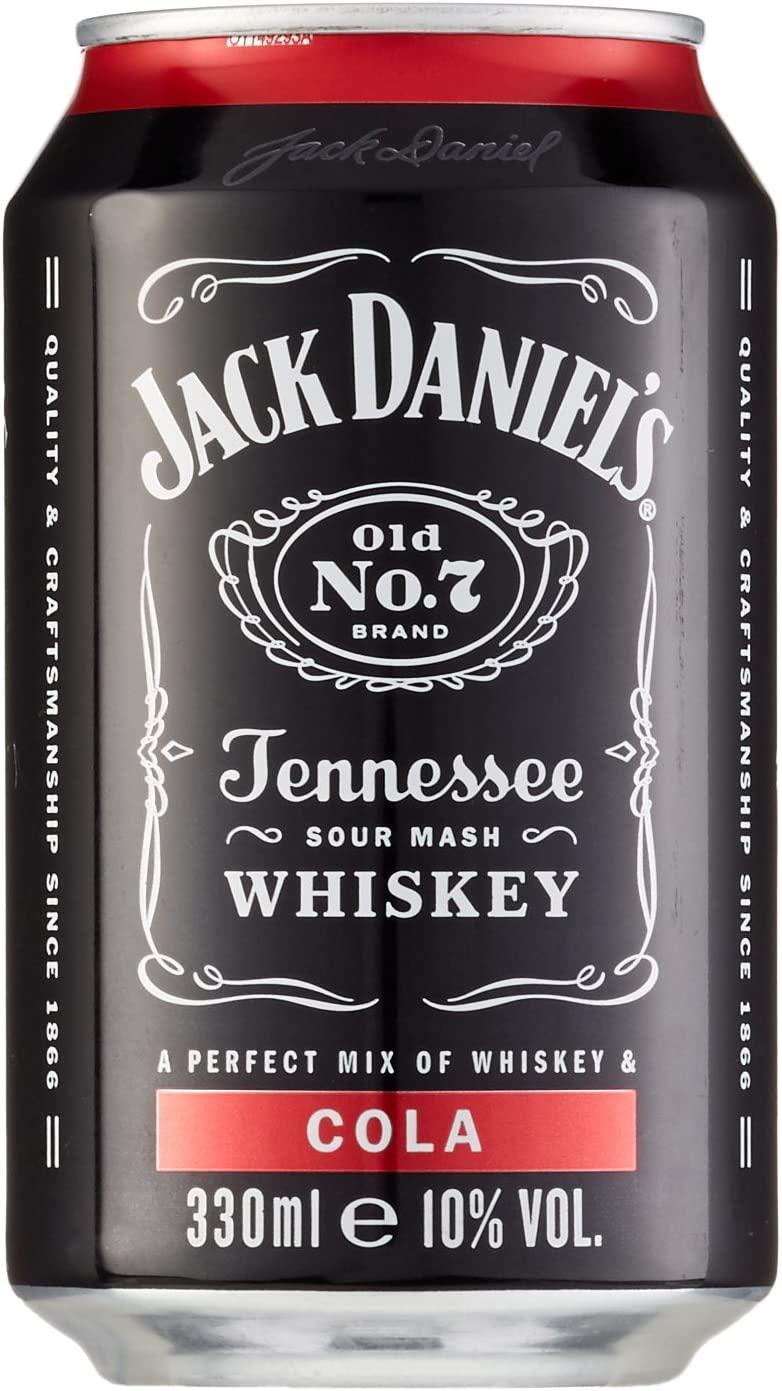 Jack Daniel's & Cola 10% Vol. 24x0,33 l Dose