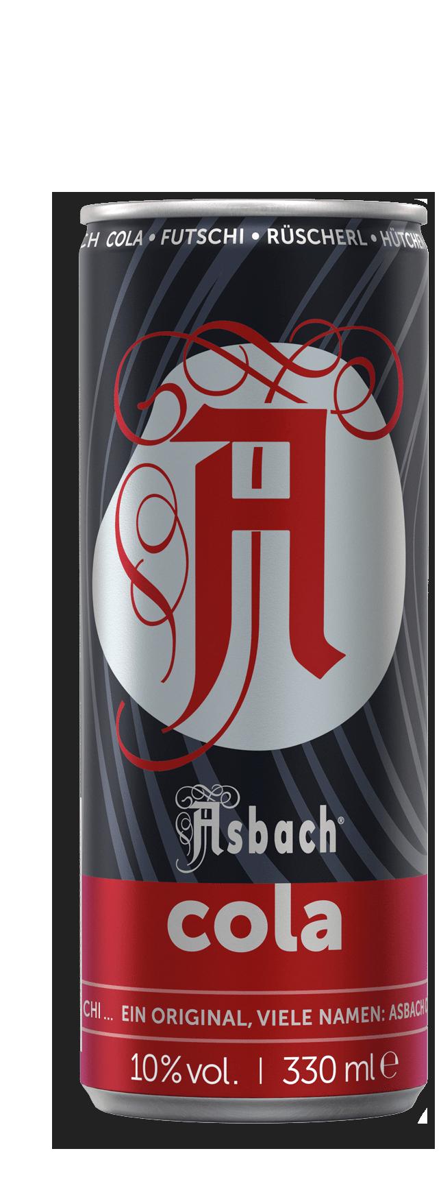 Asbach Cola 24x0,33 l Dose