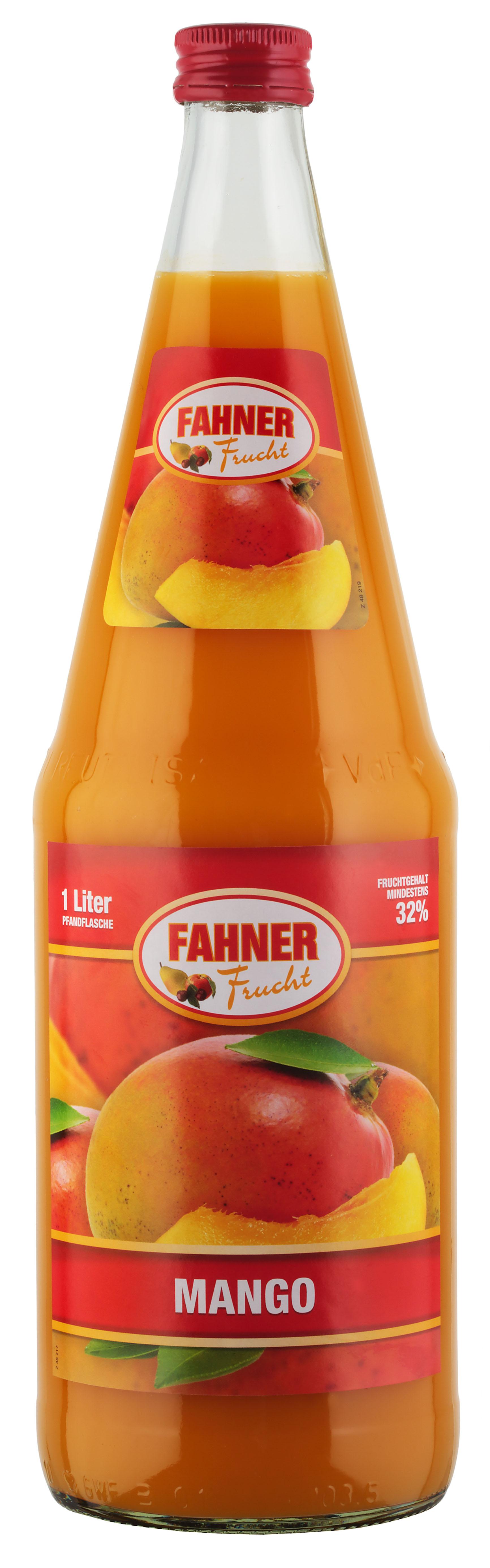 FAHNER Mango-Nektar 6x1 l