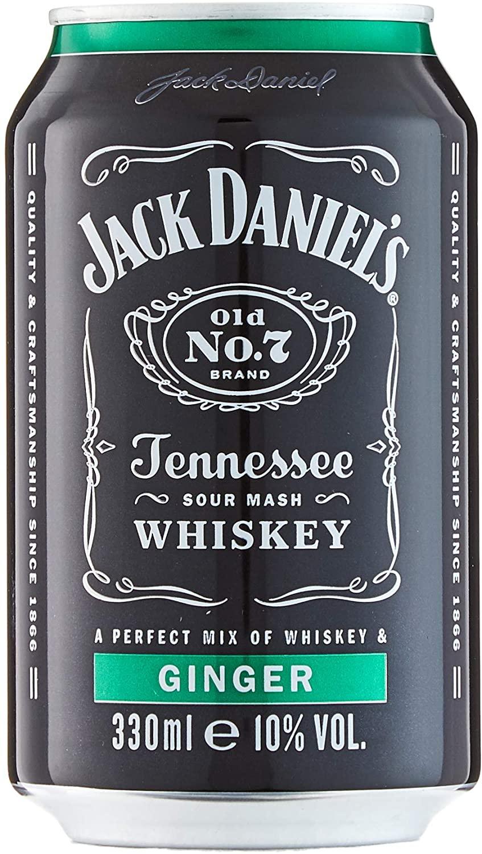 Jack Daniel's & Ginger 10% Vol. 24x033 l Dose