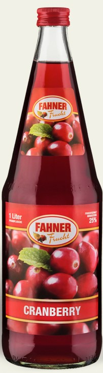 FAHNER Cranberry Nektar 6x1 l