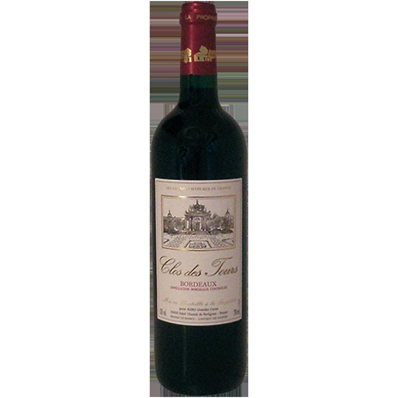 Clos des Tours Bordeaux trocken -R- 0,75 l