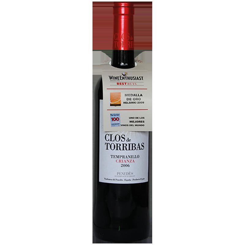 Clos de Torribas Tempranillo Crianza trocken -R- 0,75 l
