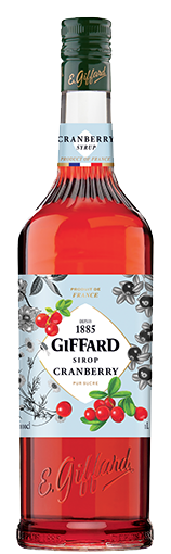 Giffard Cranberry Sirup 1 l