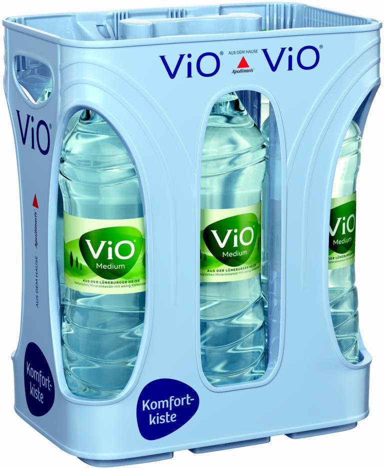 Vio  Medium Wasser 6x1,5 l