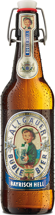 Allgäuer Büble Bier Bayrisch Hell 20x0,5 l