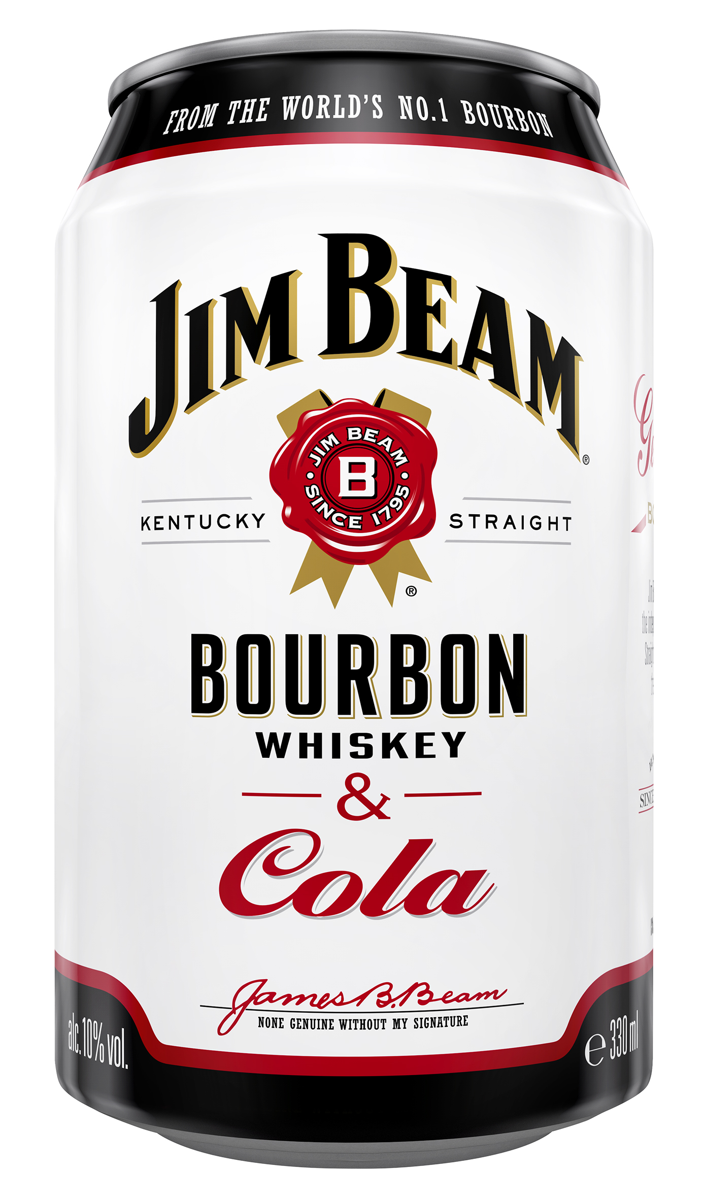 Jim Beam® & Cola 10% vol. 24x033 l Dose