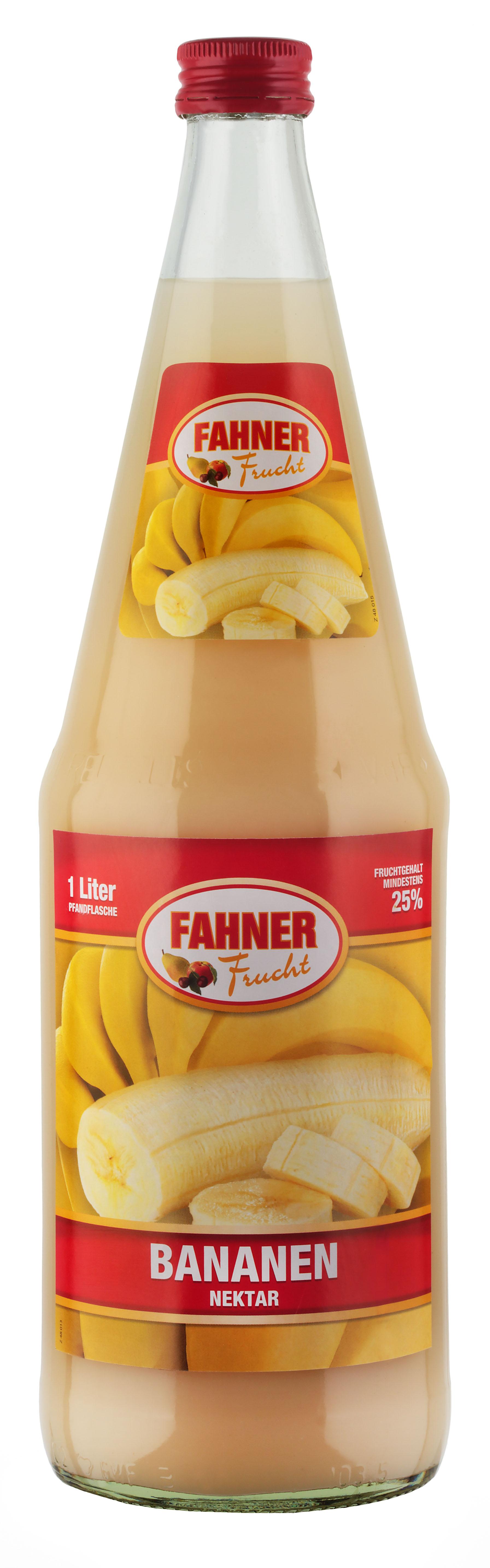 FAHNER Bananen Nektar 6x1 l